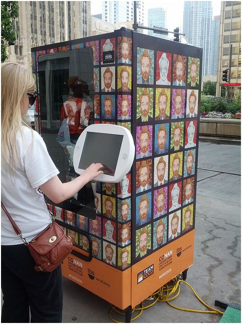 Distribute Swag Amp Get Buzz Through Vending Machines