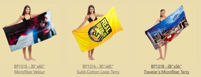 Staff Picks: Custom Beach Towels