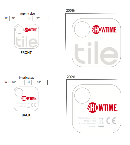 Custom Tile Trackers - SOBOconcepts | Promotional Products ...
