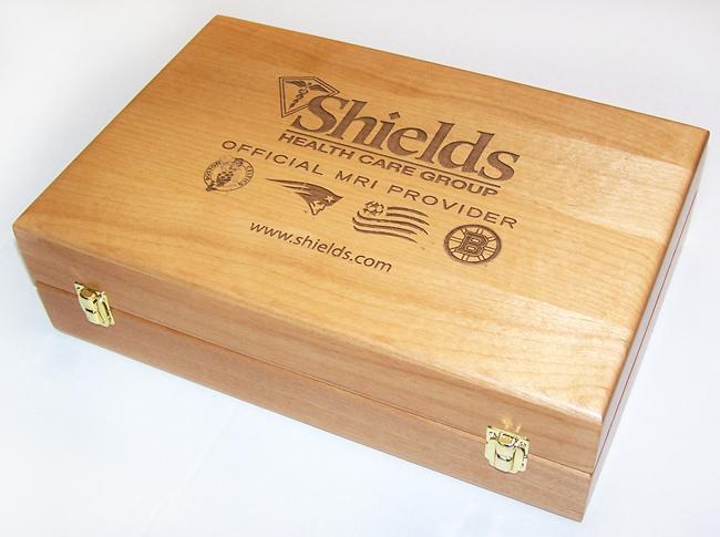 Custom-Designed SOBO Wood Gift Boxes
