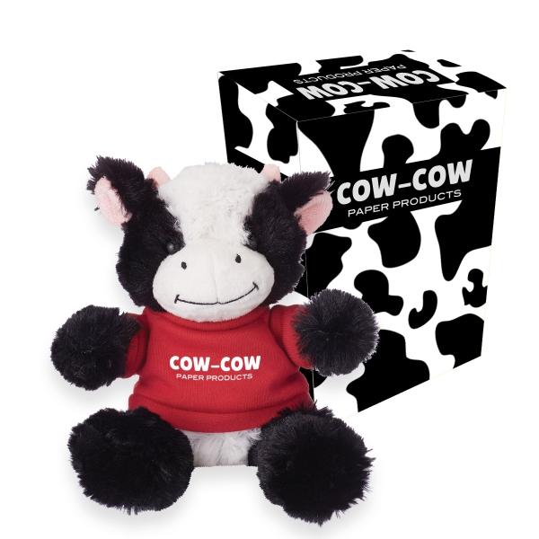 valentine's day cuddly cow