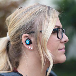 custom tech wireless earbuds